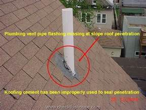 Metal Homes plumbing vent flashing does not work with roofing cement