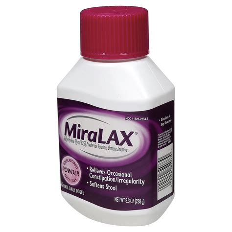 Miralax Stool Softener Side Effects by Miralax Weight Loss Dandk