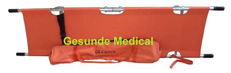 Tandu Lipat 2 Gea Folding Stretcher Ydc 1a9 tandu stretcher brankar pasien ambulance stretcher