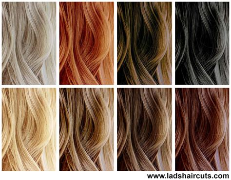 hair color dyes get look with strawberry hair dye lad s