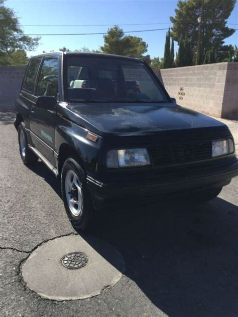 1994 chevy tracker 1994 chevy tracker 4x4 quot tin top quot for sale chevrolet