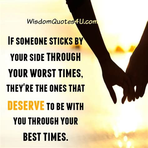 by your side sticking by your side quotes quotesgram