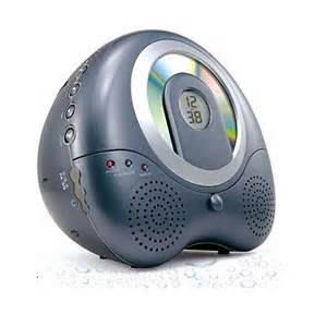 bathroom radio cd player shower cd player radio