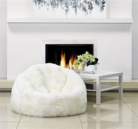 beanbag room sheepskin beanbag is better with this
