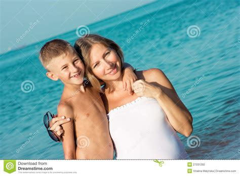 real mom son straight shota pregnant mother and son hugging stock photo image 27031292