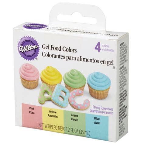 food coloring colors gel food color set wilton
