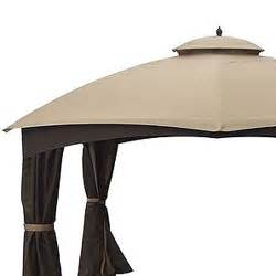 Allen And Roth Pergola by Replacement Canopy For Allen Roth Dome 10x12 Garden Winds