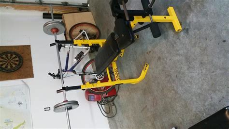 stinger weight bench stinger bench press bench and 100lbs weight west shore