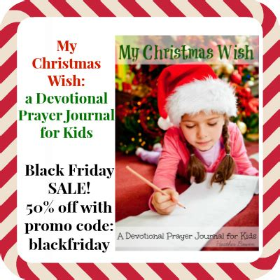 black friday sale on my christmas wish a devotional
