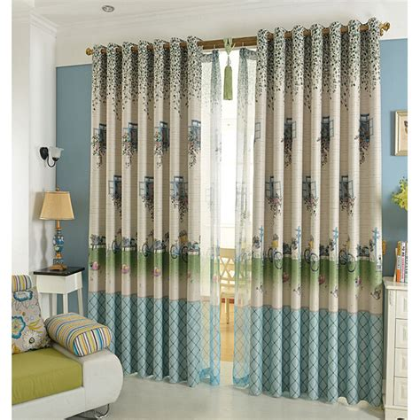 cool drapes custom blue cool patterned kids nursery curtains