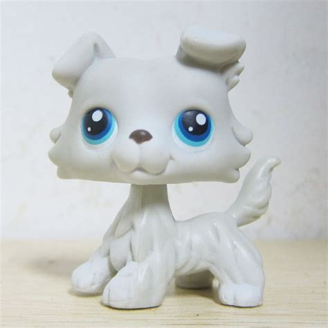 lps ebay dogs littlest pet shop collection lps 363 grey white collie puppy figure toys ebay