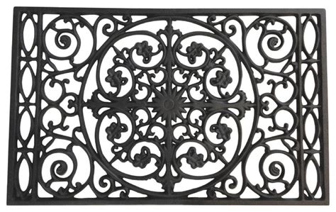 Cast Iron Doormat Door Mat Powder Coated Cast Iron Traditional