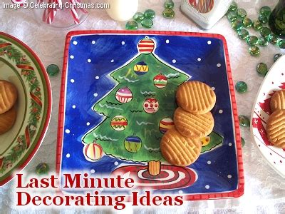 last minute decorating ideas for christmas from