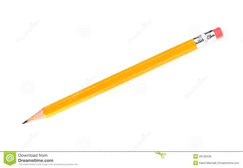 sharp pencil stock image image of single simplicity