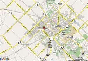 maps guelph ontario canada map of comfort inn guelph guelph