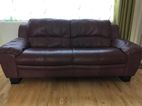 red wine on leather couch 3 seater leather sofa red wine colour eastbourne