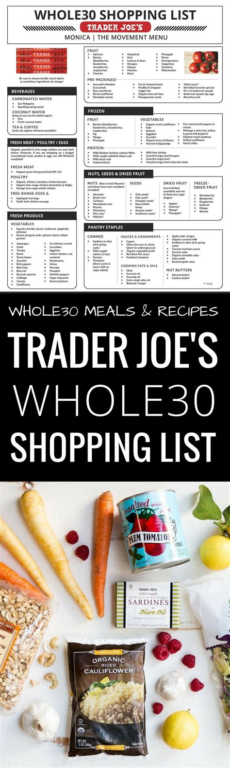 Trader Joe S Detox by 17 Best Ideas About Paleo Shopping List On