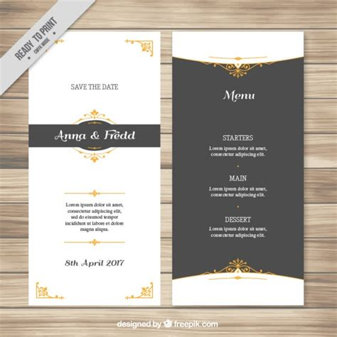 free vector invitation card template invitation vectors photos and psd files free
