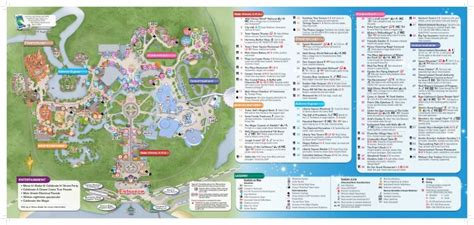 printable maps for magic kingdom brand new walt disney world maps dis blog