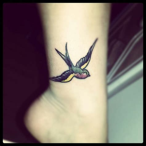 small bird tattoo on ankle ankle free bird free bird