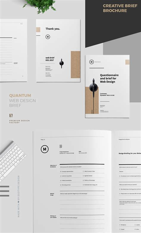 web design brief questionnaire questionnaire and brief for web design on behance