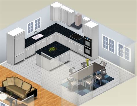 l kitchen layout with island 25 best ideas about kitchen planning on