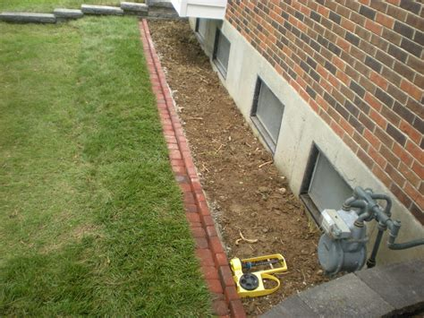 landscaping around house foundation services grabenhorst grading inc