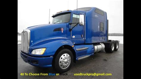 new kenworth t660 for sale for sale 2012 kenworth t660 like new from used truck pro