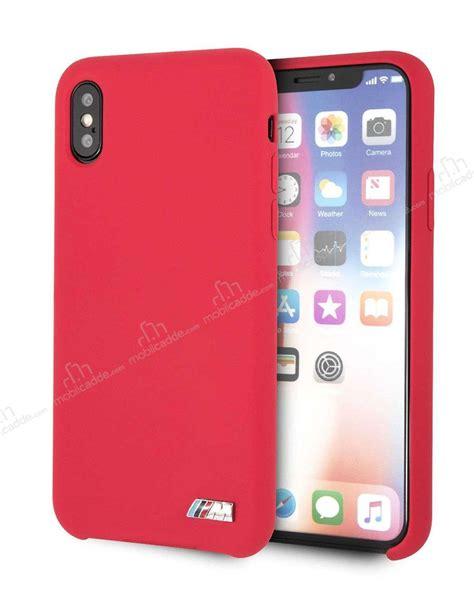 bmw m iphone xs max kırmızı silikon kılıf 220 cretsiz kargo
