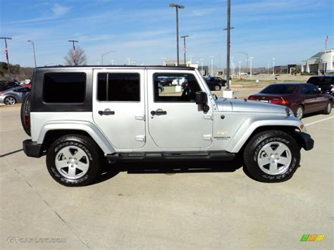 jeep sahara silver bright silver metallic 2007 jeep wrangler unlimited sahara