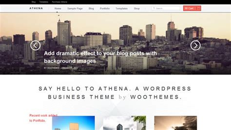 athena woothemes wordpress template wordpress woothemes