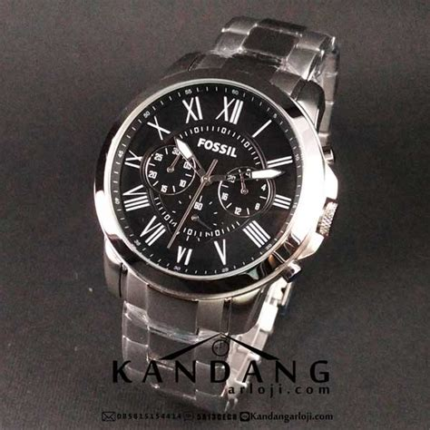Jam Pria Fossil Crono On Silver Jam Tangan Fossil Pria Fs4736 Silver Chronograph Saat