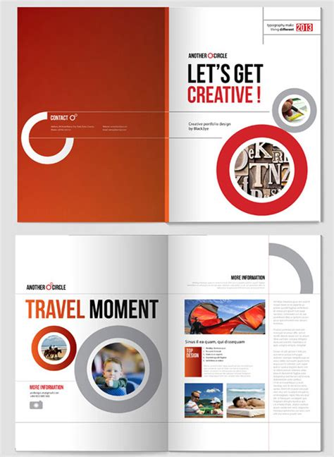 Template Brochure Design 20 simple yet beautiful brochure design inspiration