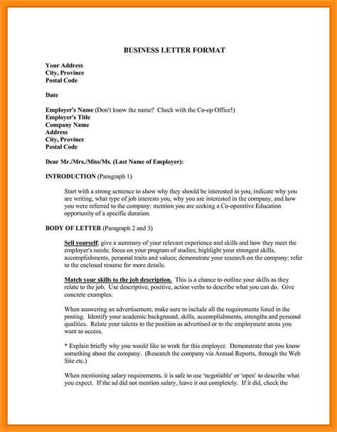 official correspondence letter format gallery letter