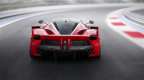 Car Back View Wallpaper by Fxx K Supercar Back View Speed Road