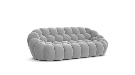 roche bo bubble large 3 seat sofa roche bobois