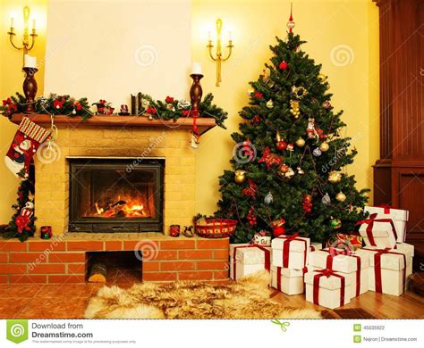 Decoration Noel Interieur Maison by No 235 L A D 233 Cor 233 L Int 233 Rieur De Maison Photo Stock Image