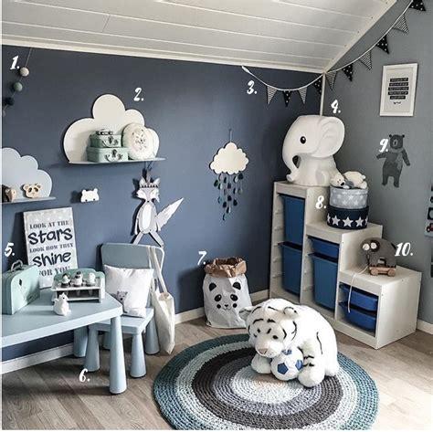 chambre bebe garcon bleu gris deco chambre garcon bleu et gris