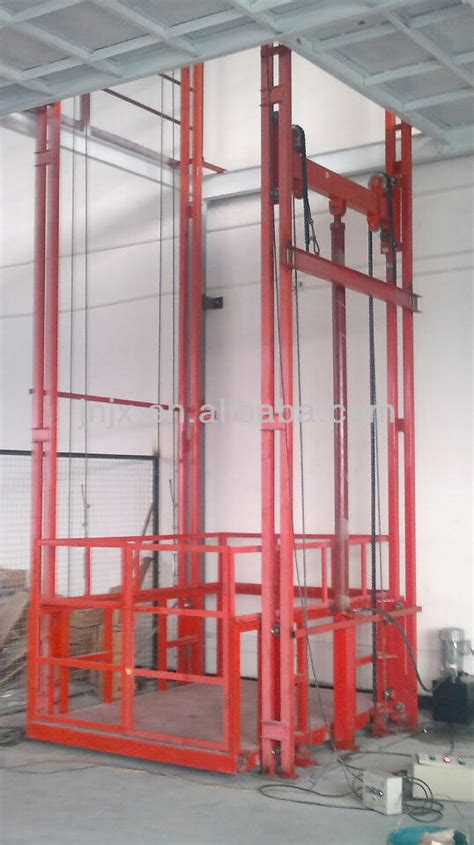 Lift Barang Cargo Lift Elevator warehouse portable lift platform electric cargo elevator