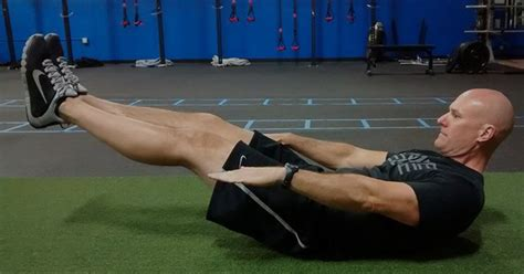 learn  gymnasts secret exercise   stronger core
