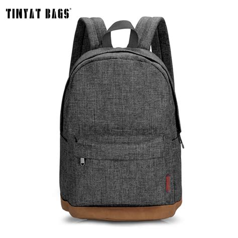 Tas Ransel Kanvas Custom Big Free Desain tinyat canvas college student school backpack