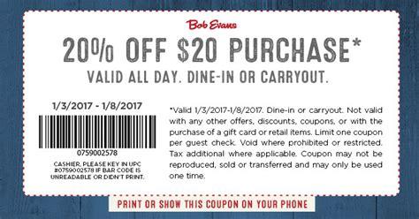 bob evans printable grocery coupons bob evans coupons printable coupons