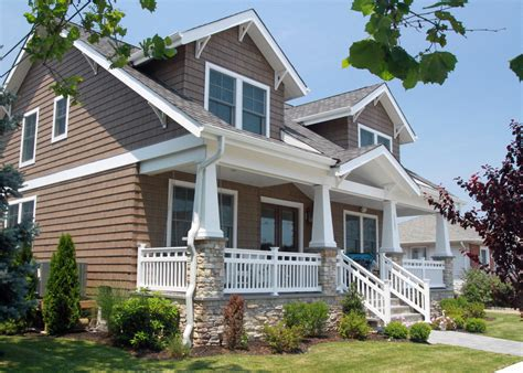 New House Styles by Craftsman Style New Home In Margate Nj Qma Design Build Llc