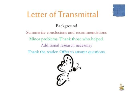 Letter Of Transmittal Definition reporting skills