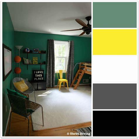 boys green bedroom makeover