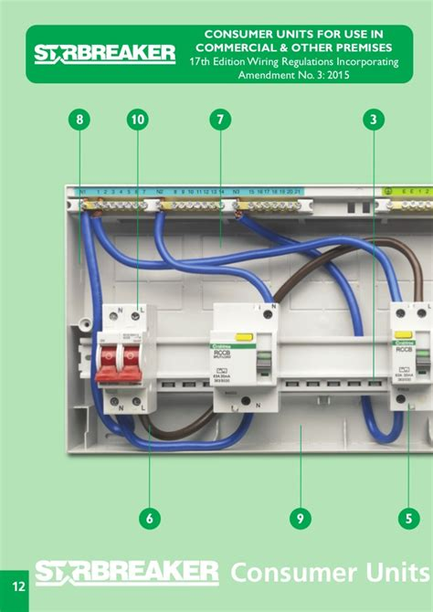 crabtree consumer unit wiring diagram k