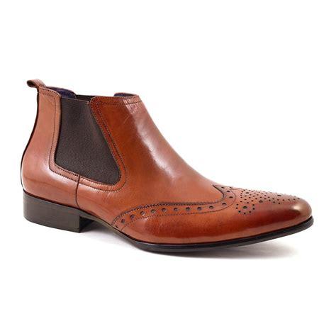 buy mens brogue chelsea boot gucinari design