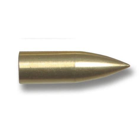 brass glue on bullet point from merlin archery ltd