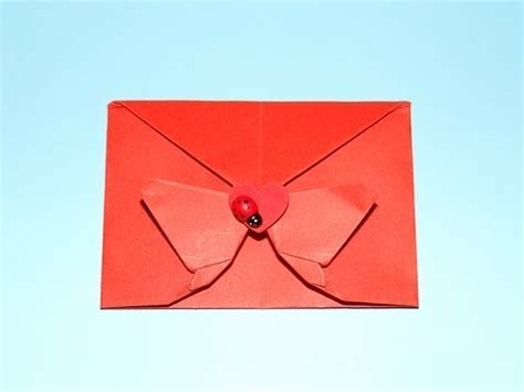 How To Make A Decorative Origami Butterfly Envelope
