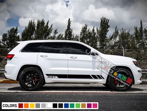 jeep grand stickers sport decal sticker vinyl side racing stripe kit